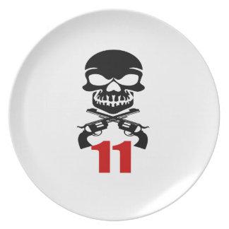 11 Birthday Designs Plate