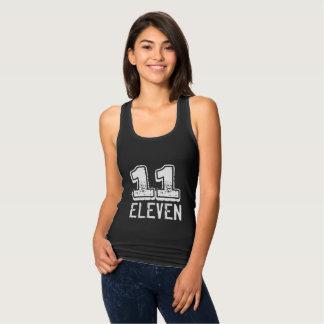 11 Eleven Jersey Racerback Tank Top