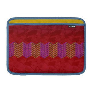 """11"""" Mac Book Air Sleeve red zigzag MacBook Air Sleeve"""