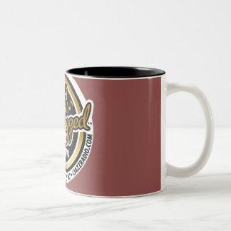 11 oz CJR logo two-tone coffee mug. Two-Tone Mug
