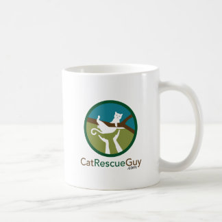 11 oz, logo front and back coffee mug