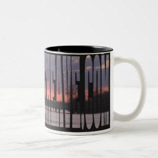 11 oz Sunset Two-Tone Coffee Mug