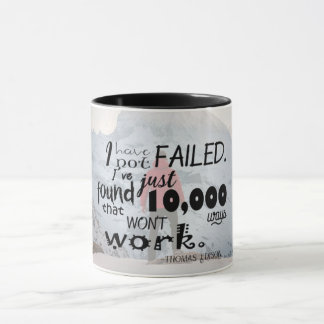 11 oz Thomas Edison Quote Mug