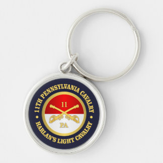 11 PA Cavalry Key Ring