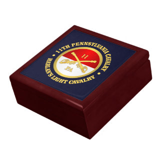 11 PA Cavalry Large Square Gift Box