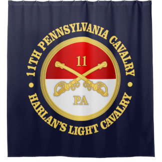 11 PA Cavalry Shower Curtain