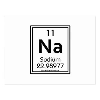 11 Sodium Postcard
