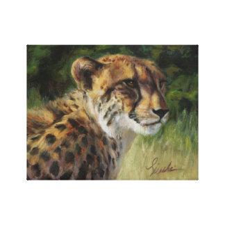 """11"""" x 14"""" Cheetah Canvas Print"""