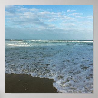 "11"" x 8.5"", Value Poster Paper (Matte)Ocean."