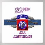 11B 82nd Airborne Division Print
