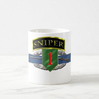11B Sniper Tab 1st ID Coffee Mug