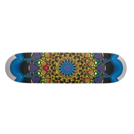 11n8a Digital Doodle Custom Skate Board