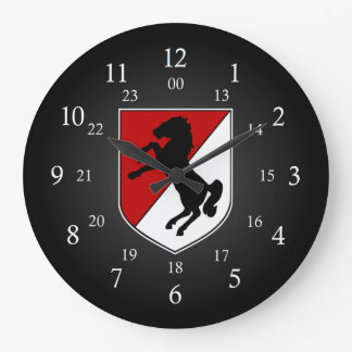 11th ACR Patch 24 Hour Large Clock