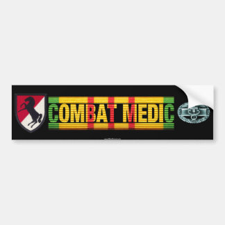 11th ACR Vietnam COMBAT MEDIC Sticker Bumper Sticker