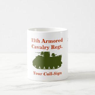 11th Armored Cavalry M113 ACAV Custom Mug