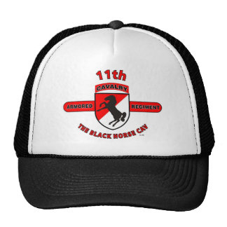 "11TH ARMORED CAVALRY REGIMENT ""BLACK HORSE CAV"" HATS"