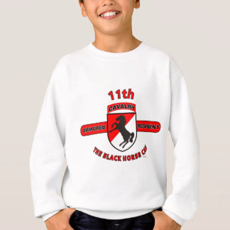 "11TH ARMORED CAVALRY REGIMENT ""BLACK HORSE CAV"" SWEATSHIRT"