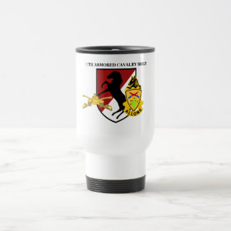 11TH ARMORED CAVALRY TRAVEL MUG