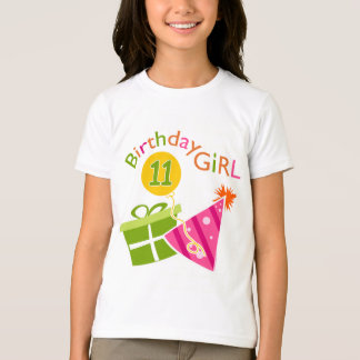 11th Birthday - Birthday Girl T-Shirt