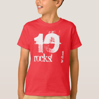 11th Birthday Gift for 9 Year Old Custom Name V08 T-Shirt