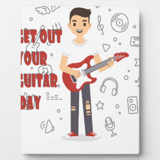 11th February - Get Out Your Guitar Day Photo Plaques