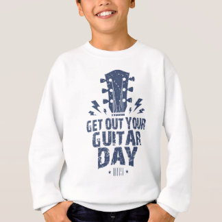11th February - Get Out Your Guitar Day Sweatshirt