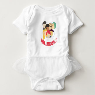 11th February - Make a Friend Day Baby Bodysuit