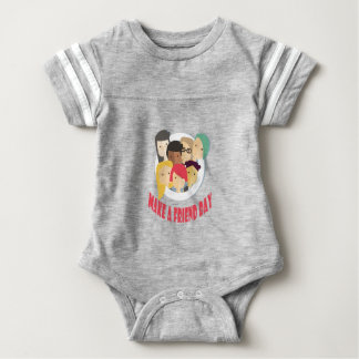 11th February - Make a Friend Day Baby Bodysuit