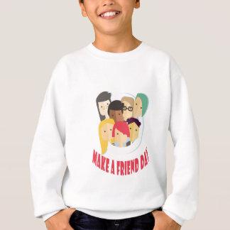 11th February - Make a Friend Day Sweatshirt