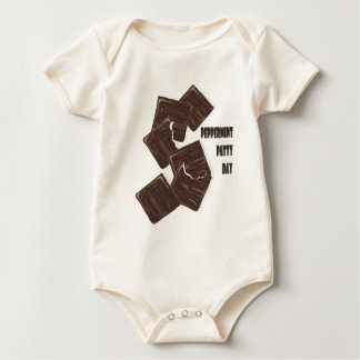 11th February - Peppermint Patty Day Baby Bodysuit