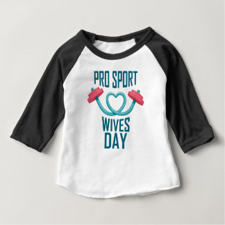 11th February - Pro Sports Wives Day Baby T-Shirt