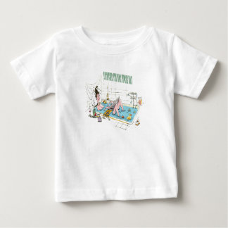 11th February - Satisfied Staying Single Day Baby T-Shirt