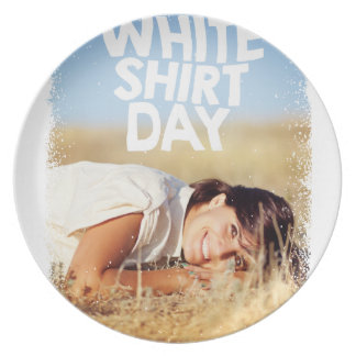 11th February - White Shirt Day Plate