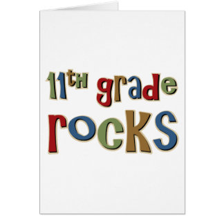 11th Grade Rocks Eleventh Card
