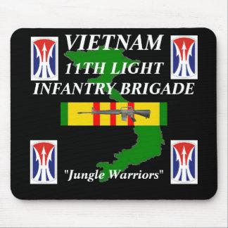11th Light Inf Vietnam Mousepad 2/b