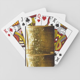 11th Pattern; Pure Gold Poker Deck