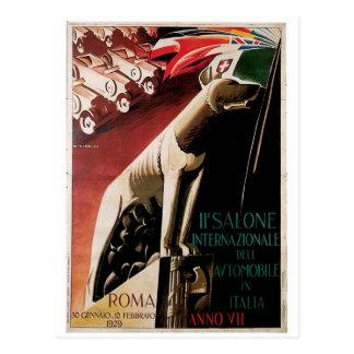 11th Salone Internazional Dell Automobile 1929 Postcards