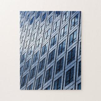 11x14 Photo Puzzle Mirror Building