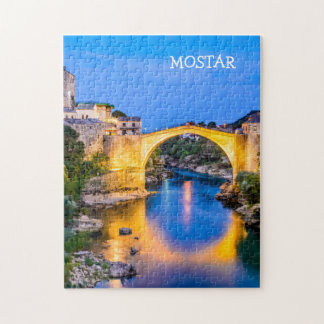 11x14 Photo Puzzle with Gift Box Mostar
