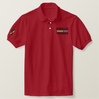 120025496611506221.dst, SOMALIA, VETERAN Embroidered Polo Shirt