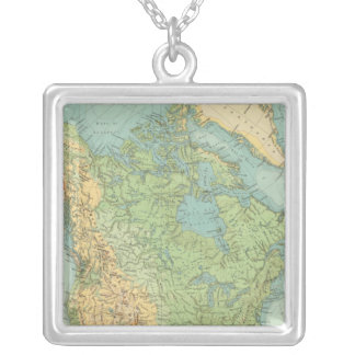 12122 North America Physical Silver Plated Necklace
