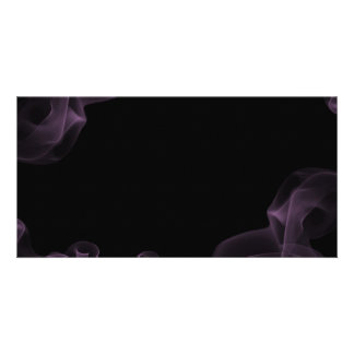 1212 DARK EMO PURPLE BLUE SMOKE BLACK NIGHT GRAPHI PHOTO CARD