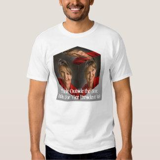 1234palin, Think Outside the BoxPalin For Vice ... Shirts