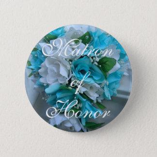 123900012_o, Matron of Honor 6 Cm Round Badge