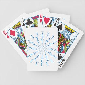 123 Mandala Bicycle Playing Cards