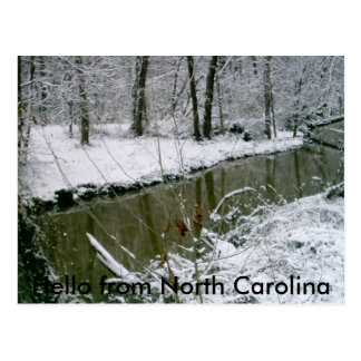 124, Hello from North Carolina Postcard