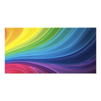 12774029431989228505abstract-rainbow-backgroundhi custom photo card
