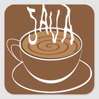 1285033523_Vector_Clipart Java typography coffee Square Sticker
