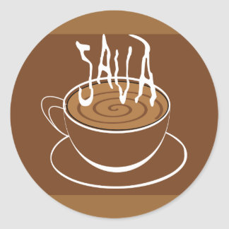 1285033523_Vector_Clipart Java typography coffee Round Sticker
