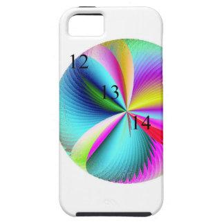 12 13 14 Rainbow Feather iPhone 5 5S Case